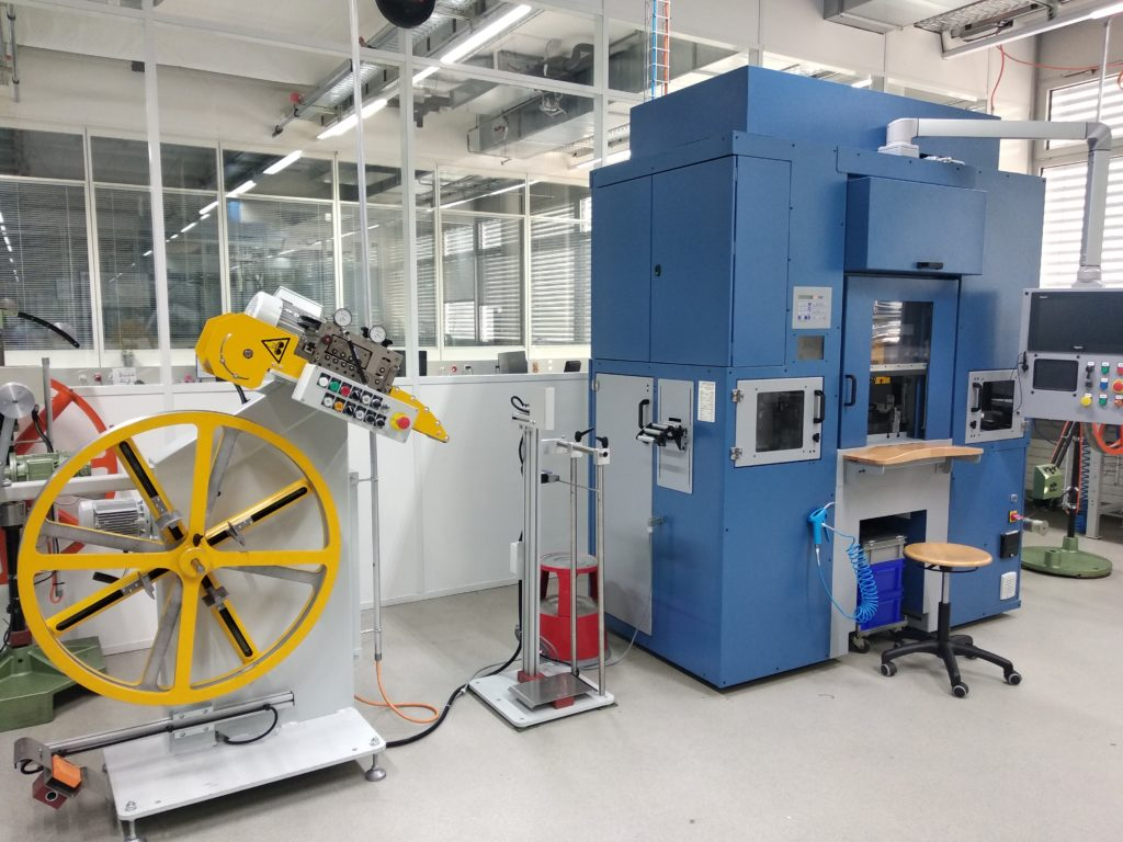 Rénovation Presse Essa pour la Haute Manufacture Horlogère